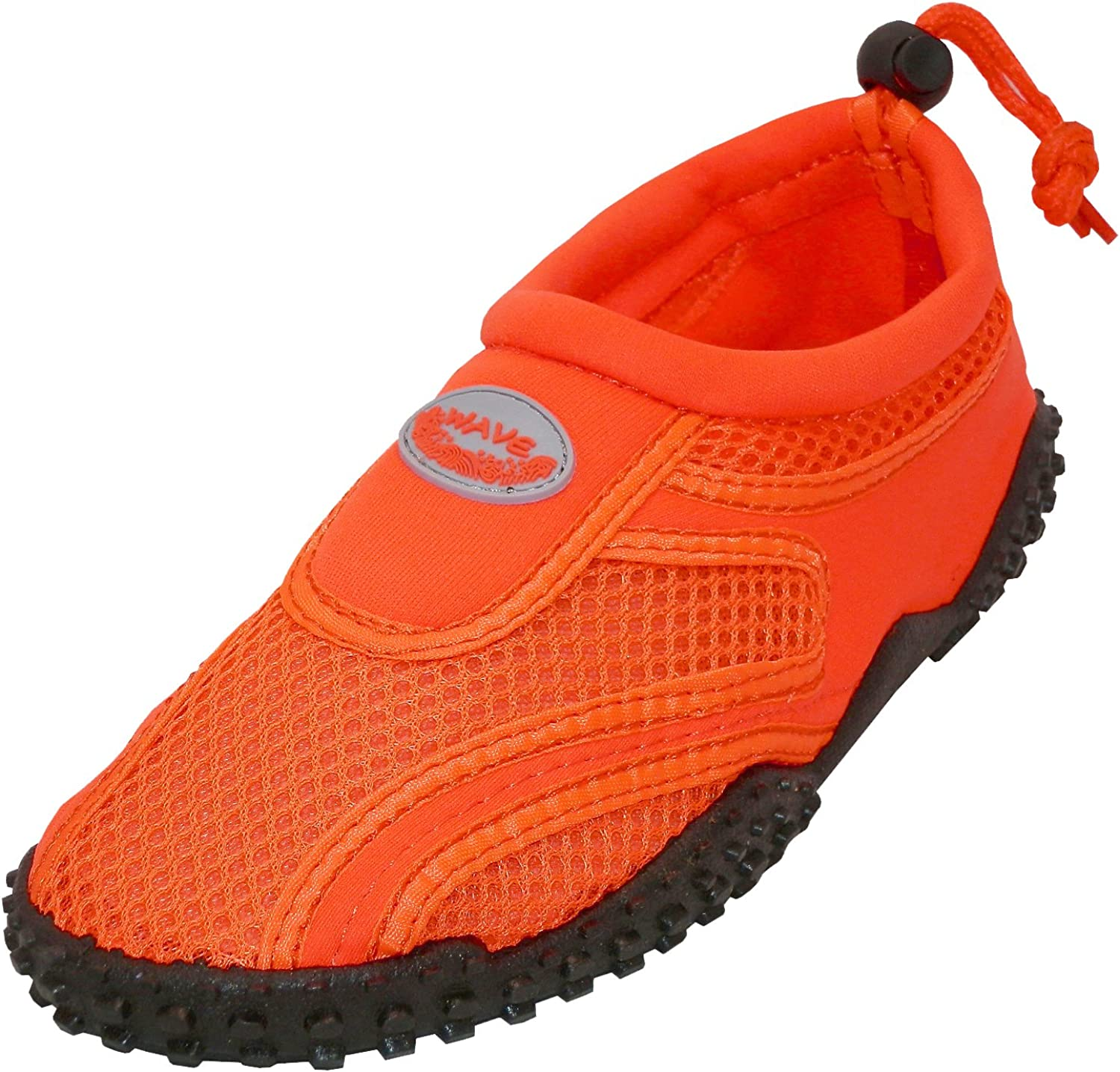 Cambridge Select Women's Closed Toe Mesh Quick Dry Drawstring Slip-On Water shoes