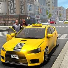 Crazy Car Taxi Driver 2019: Real City Cab Driving Simulator