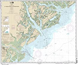 Paradise Cay Publications NOAA Chart 11513: St. Helena Sound to Savannah River 35.6 x 42.4 (TRADITIONAL PAPER)