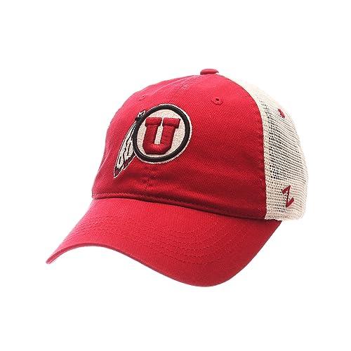 1f8ef76e975 Zephyr NCAA Utah Utes Adult Men University Relaxed Cap