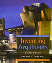 Best inventing arguments 4th edition Reviews