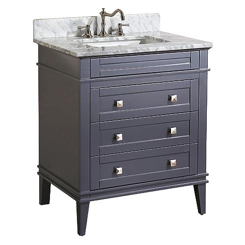 Gray Bath Vanity: Amazon.com