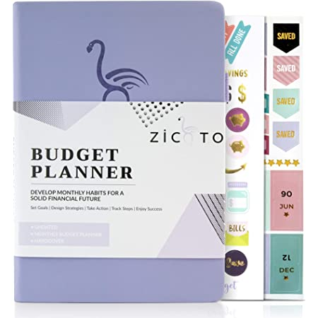 Easy Use 12 Month Financial Organizer with Expense Tracker Notebook The 2020-2021 Monthly Money Budgeting Book That Manages Your Finances Effectively Simplified Monthly Budget Planner