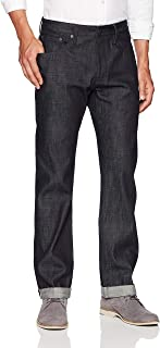 Men's Cotton Straight Fit Raw Selvage Jean