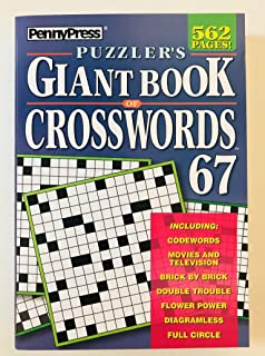 Volume 67 of the Puzzlers Giant Book of Crosswords Penny Press