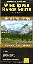 Wind River Range South Outdoor Recreation Map