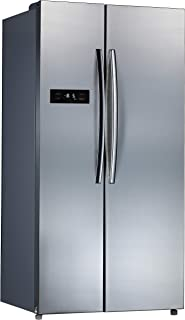 Midea 19 cu.ft. Side by Side Refrigerator, Silver - HC-689WE(N) S