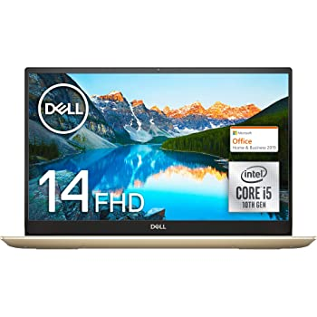 【MS Office Home&Business付き】Dell ノートパソコン Inspiron 14 5490 Core i5 Office アイスゴールド 20Q31IGHB/Win10/14.0FHD/8GB/256GB SSD