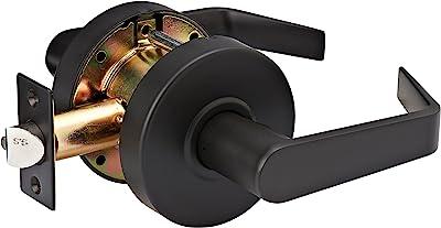 Master Lock SLCHPG10B Heavy Duty Lever Style, Grade 2 Commercial Passage Door Lock, Oil Rubbed Bronze Finish