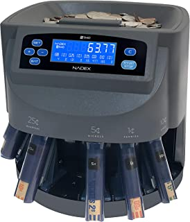 Nadex S540 Pro | Coin Counter, Sorter, and Wrapper