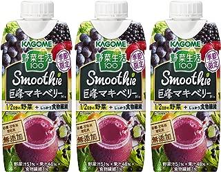 カゴメ 野菜生活100 Smoothie 巨峰マキベリーMix 330ml ×3本