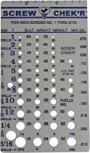 Best screw checker gauge Reviews