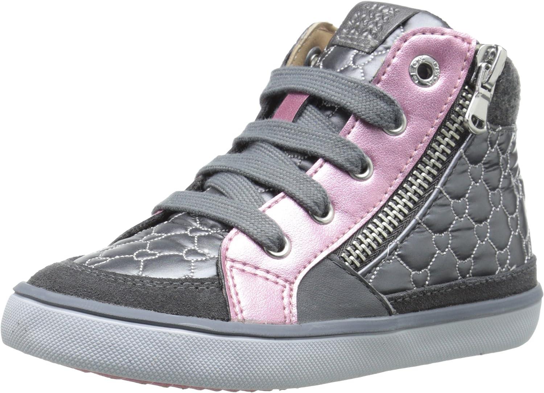Geox B Kiwi Girl 65 Sneaker (Toddler)