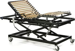 Gerialife® Cama articulada geriátrica hospitalaria con Carro Elevador (90x190)