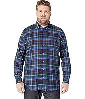 Big & Tall Twill Sportshirt