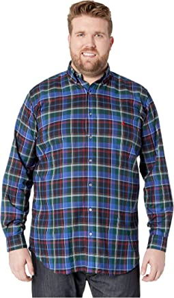 Big & Tall Twill Sportshirt