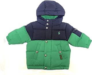 ralph lauren puffer jacket green