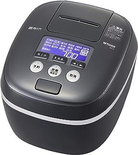 タイガー魔法瓶(TIGER) 炊飯器 5.5合 圧力IH 土鍋コーティング 極うま機能付き 炊きたて モスブラック JPC-G100KM