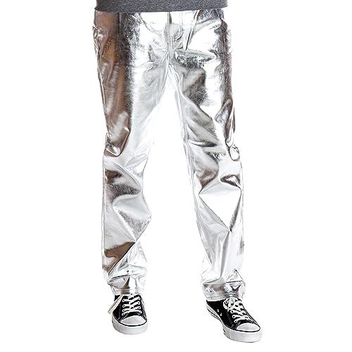 a26ed051 Ragstock Men's Metallic Shiny Jeans
