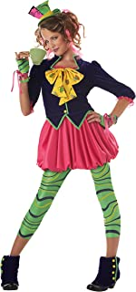 California Costumes girls Tween Miss Mad Hatter Costume Small (6-8)