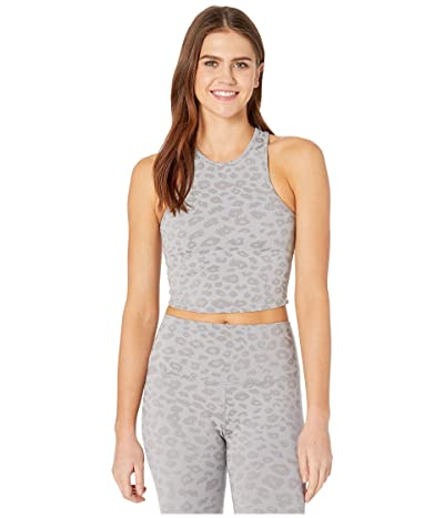 Beyond Yoga Studio Cropped Tank (Gray) Women