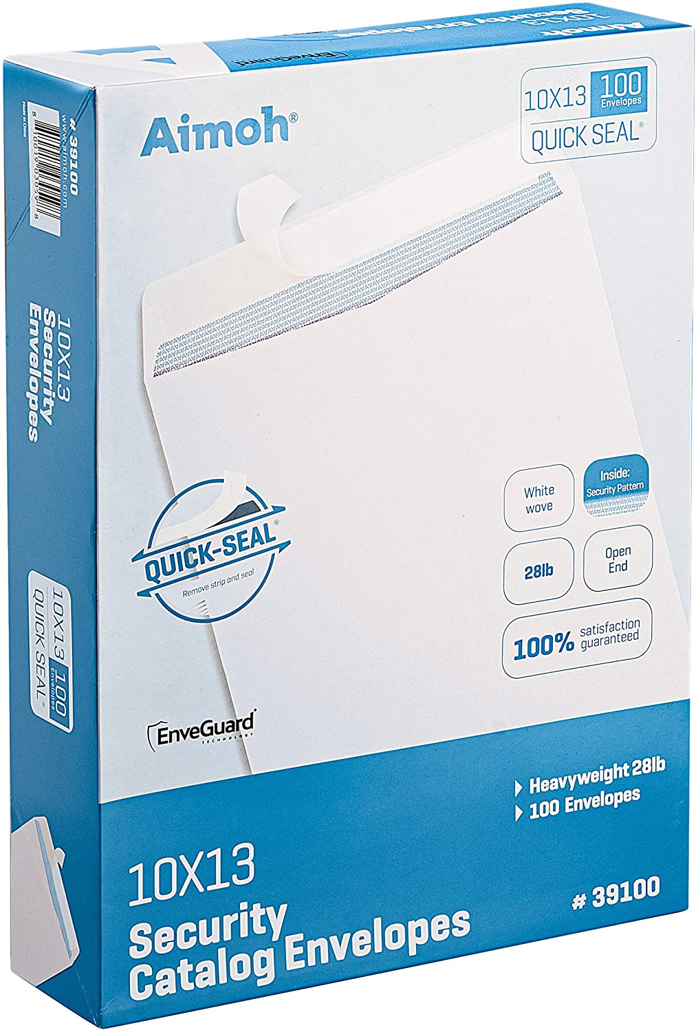 100 10 x NEW before selling ☆ 13 Self-Seal Security Brand new 28lb White Envelopes - Catalog 1