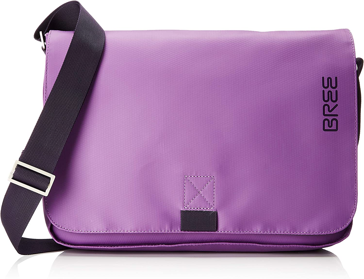 BREE Collection Punch 62, Pat. Purple, Shoulder Bag S19, Unisex Adults' Bag, Purple (Pat.Purple), 8x24x40 cm (B x H T)