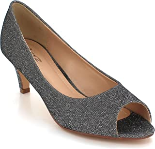 7c54318d819 Amazon.co.uk: Kitten Heel - Fashion Sandals / Sandals & Slides ...