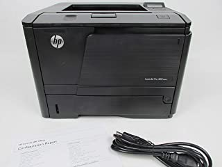 Renewed HP LaserJet Pro 400 M401N M401 CZ195A Laser Printer with toner and 90-Day Warranty