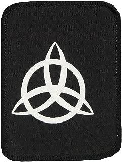 Led Zeppelin Men's John Paul Jones Symbol Screen Printed Patch Black