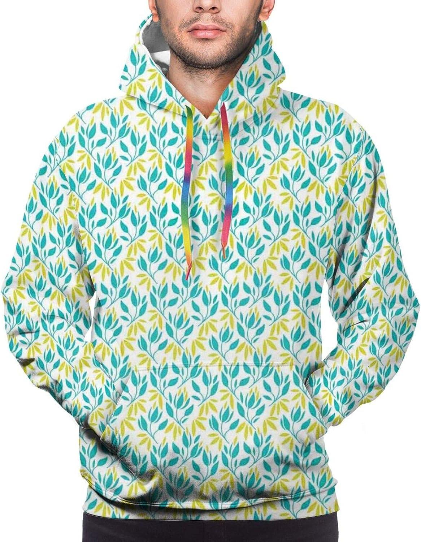 TENJONE Men's Hoodies Sweatshirts,Abstract Helms Marine Navigation Towers Children Cartoon Style Pattern