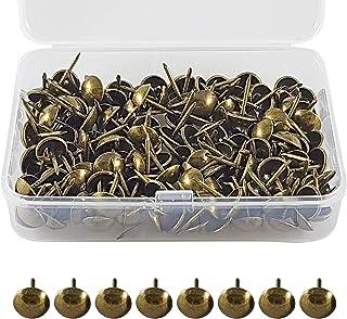 ✮LEVENSLANGE GARANTIE✮-CZ Store®- Stofferingsnagel|150 PCS|- bekledingsnagel 17X11 MM- bronzen bekledingsnagel voor fauteu...