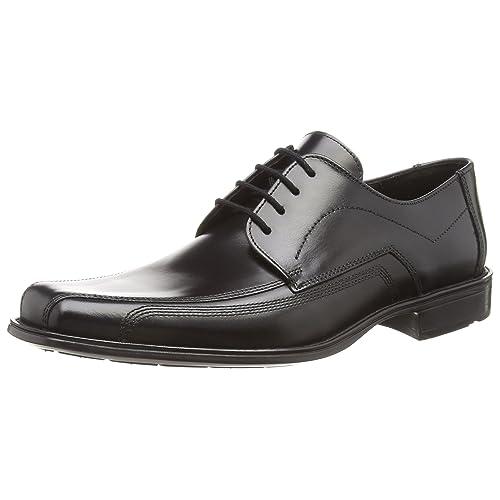 Rieker Herrenschuhe, Anzugschuhe, schwarz