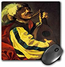 3dRose BLN Music Featured in Fine Art Collection – A Lute Player, 1626 by Hendrick Terbrugghen – MousePad (mp_171449_1)