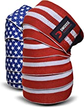 DMoose Knee Wraps for Weightlifting Men and Women Powerlifting, Deadlift, Bodybuilding,..