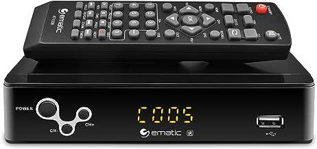 Digital Converter, Ematic Digital TV Converter Box with Recording, Playback, & Parental Controls [ AT103B ]