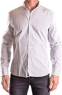Luxury Fashion Mens MCBI25086 White Shirt   Season Outlet