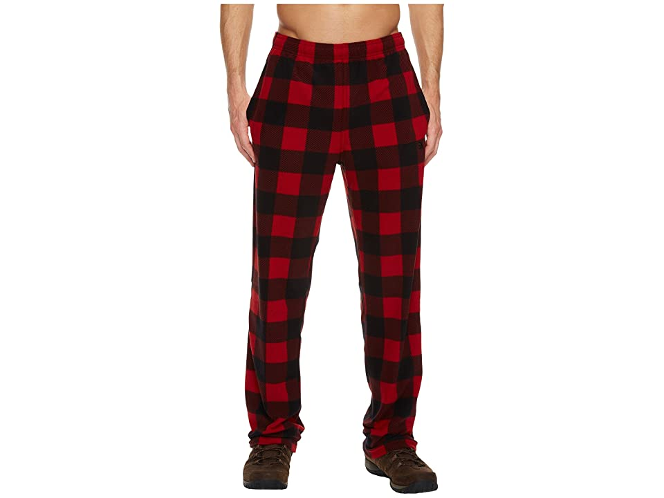 The North Face Glacier Pants (Cardinal Red Grizzly Print) Men