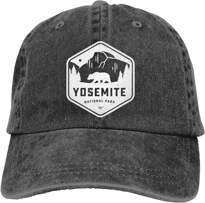 Yosemite National Park Hats Adjustable Baseball Cap Casquette Dress Up Shading for Men Women Trucker Unsiex