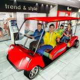 Centre commercial Radio Taxi: Voiture Driving Taxi Jeux