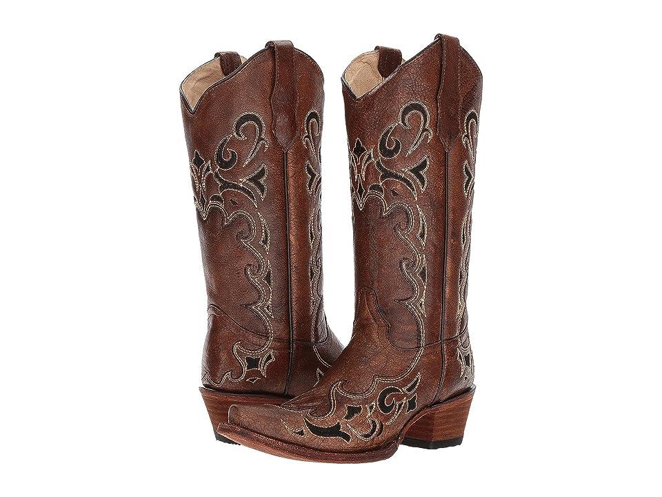 Corral Boots L5247 (Black/Brown) Cowboy Boots