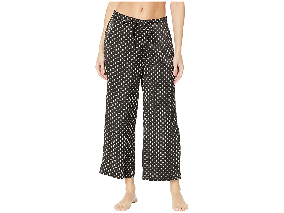 Commando Silk Wide Leg Crop Pants SLK103 (Skull) Women