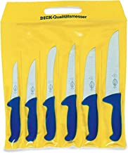 F.Dick-ergogrip-knife-set-6pcs in Yellow Carrying-Bag