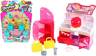Maven Gifts Shopkins Weekend Bundle: Shopkins Fashion Spree Makeup Spot and Shopkins Season 3 Playset (12-pack) for Ages 4 and Up