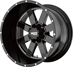 17x10 Moto Metal MO962 5x127/5x139.7-24 Offset (4.56 inch backspace) 78.3 Hub - Gloss Black Milled - MO96271035324N [ ✅ Authorized Dealer]
