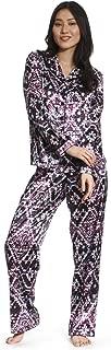 Women's Sleepwear Two-Piece Pajama Set, Pajama Top and Pants, Soft Comfortable Lightweight PJ Set for Women
