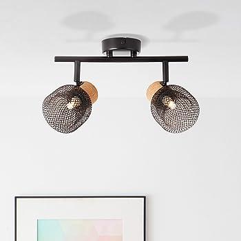 Lámpara de techo Lightbox de 2 focos, orientable, 2 casquillos G9 ...