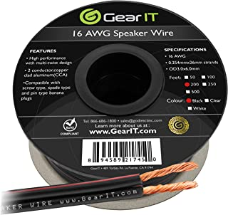 Best rockford fosgate 16 gauge speaker wire Reviews