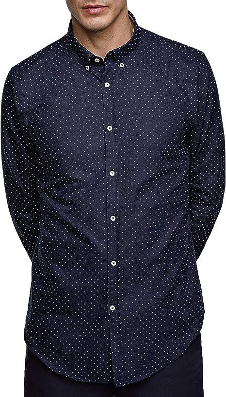 Zara - Camisa de Vestir - para Hombre: Amazon.es: Ropa