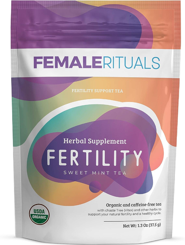 Female Rituals Fertility New Shipping Free Shipping Tea Peppermint Genuine Ferti – Natural
